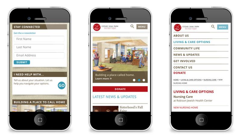 Cedar Sinai Park Mobile Site