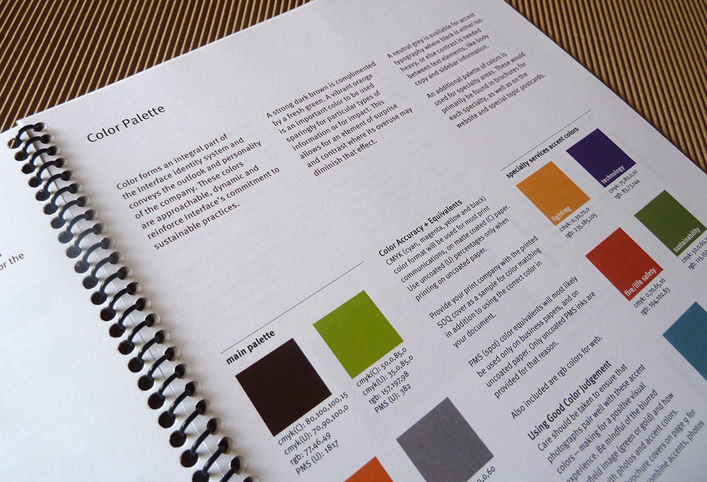Style guide, brand guide | Allegro Design | Portland, OR
