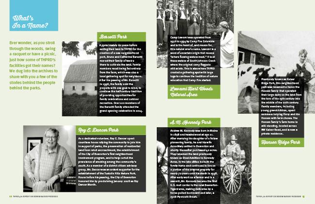 Nonprofit annual report spread | Allegro Design | Portland, OR