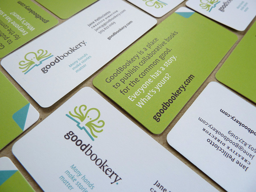 business card design | Allegro Design | Portland, OR