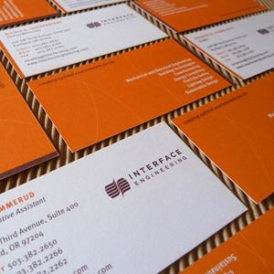 Engineering firm brand design. Allegro Design, Portland, OR
