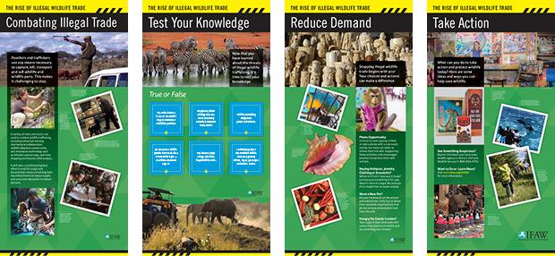 Exhibit design for International Fund for Animal Welfare. Design by Allegro Design